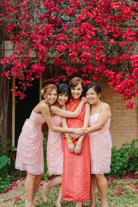 red-dress-bridesmaids