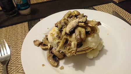 mushroom-pie