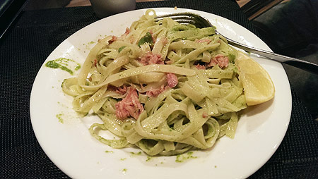 parsley-pesto-pasta