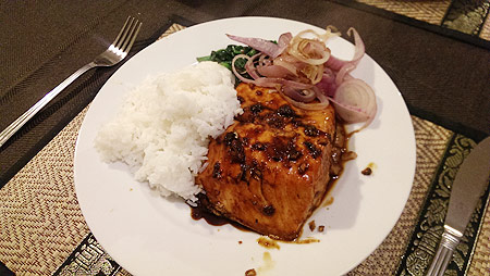 salmon-with-maple-sauce