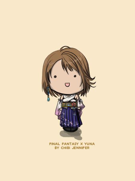 Chibi Yuna (Final Fantasy X)
