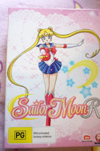 Sailor Moon R Limited Edition Box Cover (Madman release)
