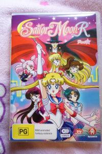 Sailor Moon R Part 1 DVD Cover