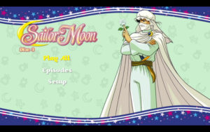 Sailor Moon R - Disc 3 Menu