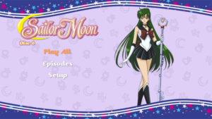Sailor Pluto DVD Menu