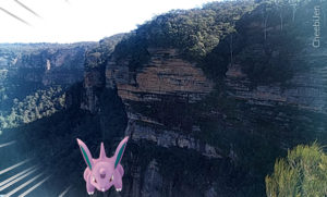 Pokemon Go @Wentworth Falls