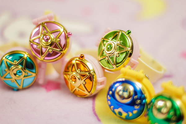 Sailor Moon Communicator Watches Gashapon Set