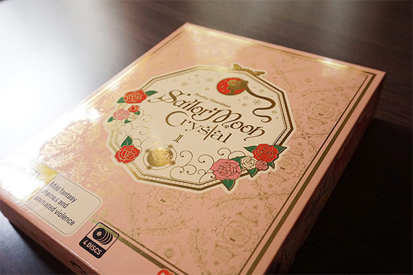 Sailor Moon Crystal Bluray/DVD Limited Edition Madman