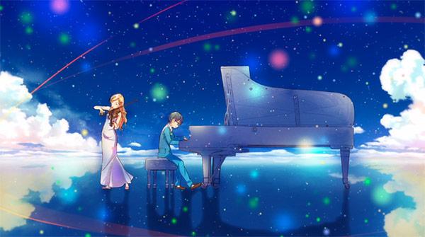 Your Lie In April - Kousei and Kaori