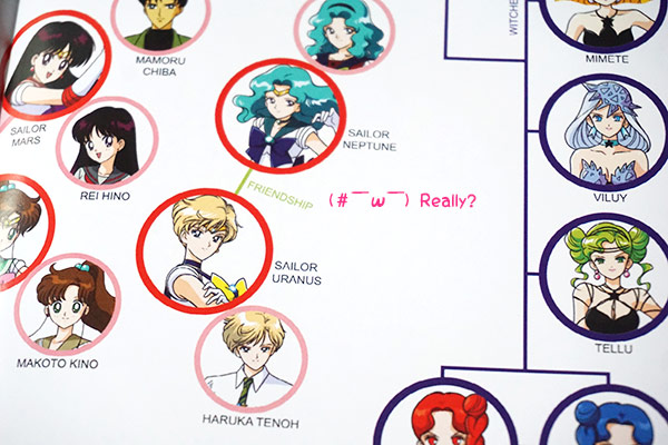 Sailor Moon S Haruka and Michiru Friendship