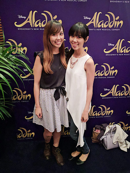 Aladdin Musical @Captiol Theatre Sydney