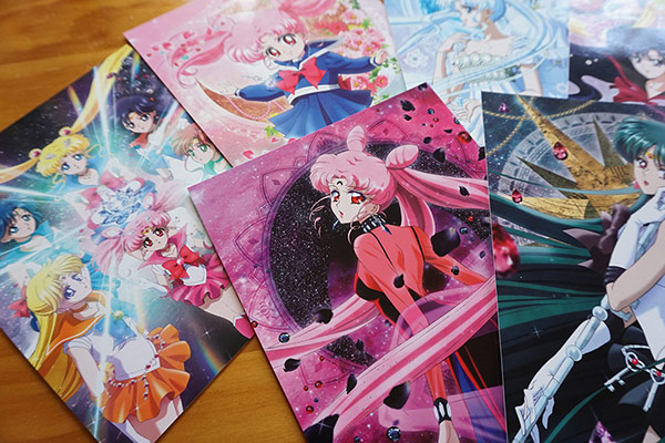 Sailor Moon Crystal Set 2 Art Cards (Madman release)
