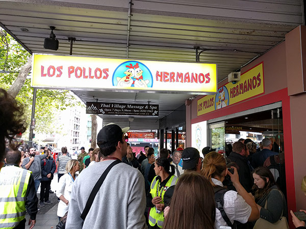 Los Pollos Hermanos Pop Up Sydney