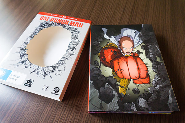 One Punch Man Limited Edition Blyray DVD Combo by Madman