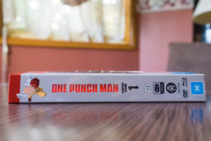 One Punch Man Limited Edition Bluray DVD Combo