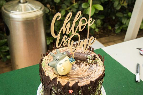 Totoro birthday cake