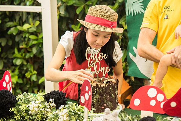 Chloe's Totoro Birthday